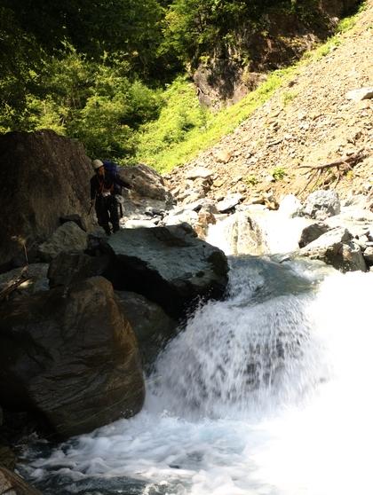 南アルプス・サバイバル登山(5)
