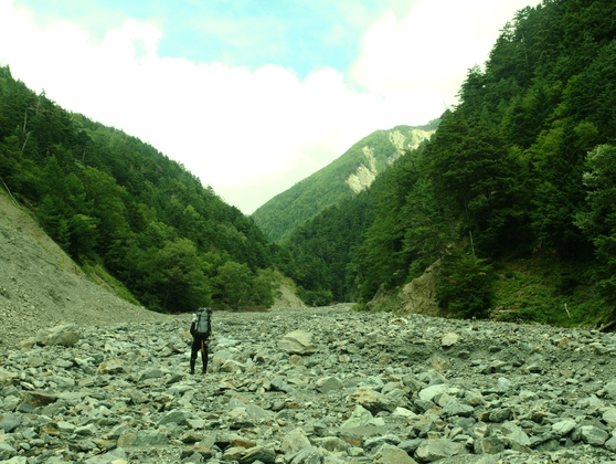 南アルプス・サバイバル登山(6)
