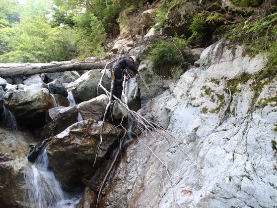 南アルプス・サバイバル登山(9)