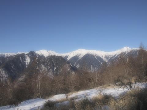 鳳凰三山、登る前から遭難するところでした。