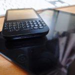 BlackberryとiPad mini