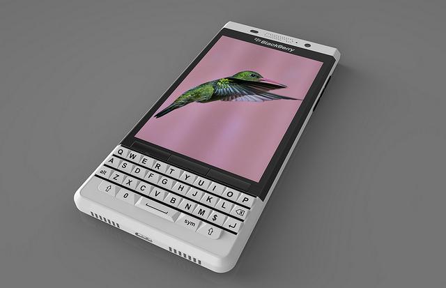 ファンが作成した Blackberry Vienna の3Dレンダリング画像