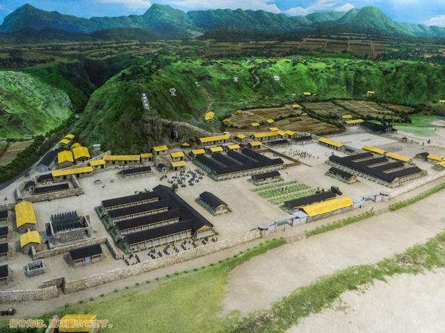 台湾緑島(綠島)の人権文化園区の模型