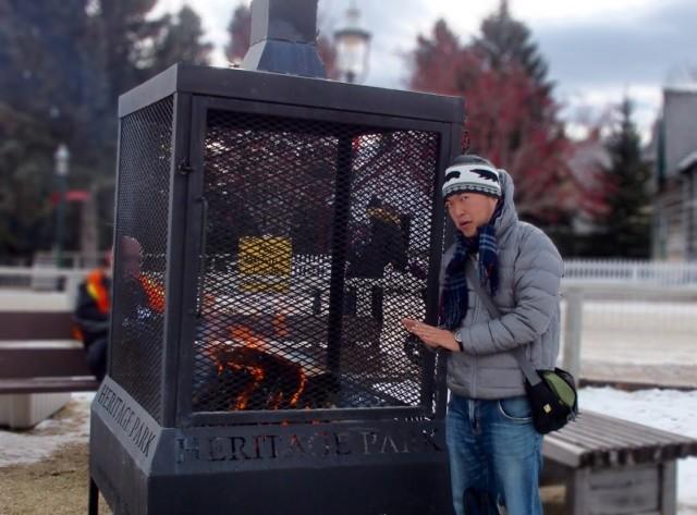 公園のなかに焚き火があるほどの充実っぷり