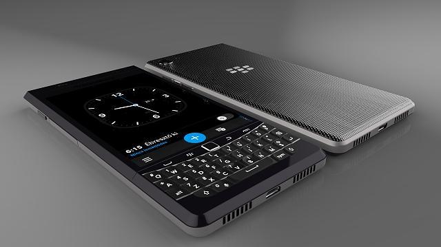 Blackberryファンが作成した Blackberry Vienna の3Dレンダリング画像