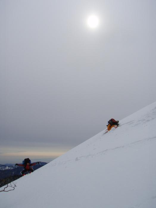 雪山での活動