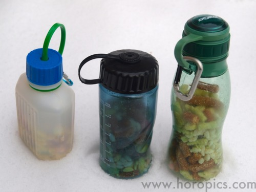 山でゴミを減らし軽量化する単純な方法